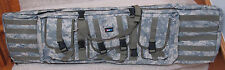 "42"" Paddled Doublel Rifle Bag Fit 2 Rifle & with Many Pockets. ACU Color"
