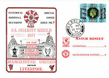 Liverpool Football Postal Covers