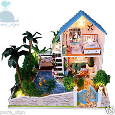 DIY Handcraft Miniature Project My Little House in Spain Wooden Dolls house