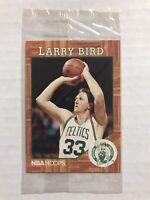 Larry Bird 1991 NBA Hoops Legend Promo Video Card Boston Celtics SEALED RARE