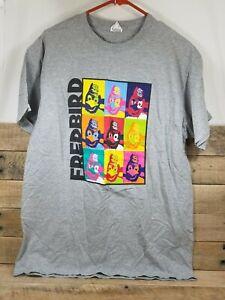 St Louis Cardinals Fred Bird Mascot Andy Warhol Inspired T-Shirt