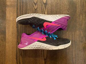 Nike Metcon 3 Women's Training Shoes Size 7 (849807-002)
