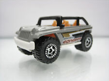Diecast Matchbox Jeep Willys Concept Car Grey Good Condition
