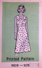 Vtg 1980s Mail Marian Martin 9019 Sweetheart Sun Dress Sewing PATTERN 18.5 UnCUT