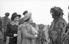 6x4 Photo ww10E4 Normandy Para GBCA 6th Air Div 19 May Reine Princess Elizabeth