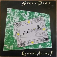 1983 NEW WAVE - STRAY DAGS - LEMONS ALIVE LP - SD 0157 NM-