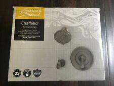 American Standard Chatfield Tub Shower Faucet +VALVE Brushed Nickel #7413502.295