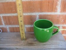 Pre-owned *** 2005 STARBUCKS COFFEE - Green *** Ceramic Mug Cup