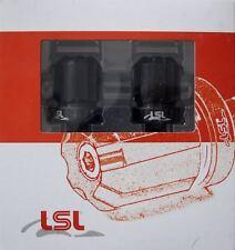 Lenkerenden LSL 135-D07MB Dual Dise 18mm 14 mm Lenkerende schwarz Aluminium Neu