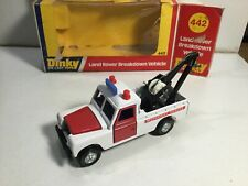 Dinky 442 Land Rover Breakdown Vehicle Mint Within Its Original Box
