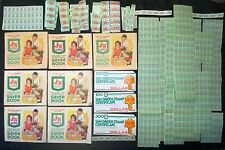 1960c **LARGE LOT** ~S & H GREEN STAMPS QUICK SAVERS BOOK, STAMPS, CERTIFICATES!