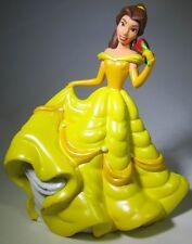 BELLE Disney BEAUTY AND THE BEAST PRINCESS Dress PVC Figure CAKE TOPPER FIGURINE