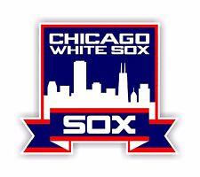 Chicago White Sox Decal / Sticker Die cut