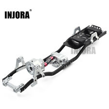 313mm Wheelbase Prefixal Gearbox Metal Chassis Frame fr 1/10 RC SCX10 & SCX10 II