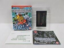 WS -- Buffers Evolution -- Boxed. WonderSwan, JAPAN GAME. BANDAI. 27696
