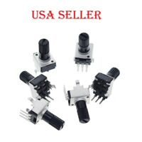 5pcs 10kΩ RV09 0932 Vertical Shaft Adjustable Resistor 3pin Seal Potentiometer