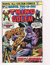Marvel 2 In 1: The Thing & The Golem #11 FN Marvel Comics Comic Book 1975 DE29