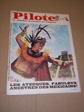 """PILOTE no 465"" (1968) ASTERIX / MEXICO 1468 - TENOCHTITLAN / GOTLIB / IZNOGOUD*"