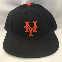 1950's Bobby Thomson Signed Autographed Game Used New York Giants Cap Hat JSA