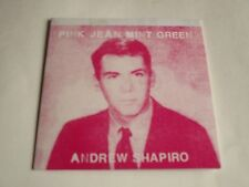 Andrew Shapiro Pink Jean Mint Green CD 9 Songs Digipak 2016 NEW