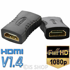 HDMI Female To Female Coupler Adapter Joiner Cable Extender Plug For HDTV Plasma