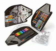 Crayola Star Wars Art 75 Pieces Craft Kit Markers Pencils Crayons Kids Gift NEW