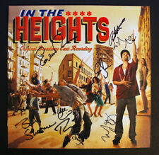 LIN MANUEL MIRANDA + 10 CAST SIGNED - IN THE HEIGHTS 3-record Box Set, Photos!