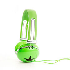 OverEar Star DJ Headphones Adjustable LeapPad Innotab for Girls Boys Childs Kids