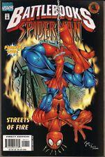 BATTLEBOOKS SPIDER-MAN STREETS OF FIRE MARVEL INTERACTIVE GAME BOOK 1ST PRNT NM