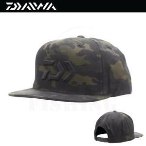 Daiwa D-VEC Green Camo Flatbill Cap Hat (3571)