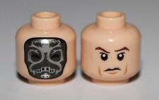 LeGo Light Flesh Minifig Head Dual Sided Death Eater Mask Swirls Harry Potter