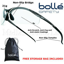 Bolle Contour Clear Lens Safety glasses CONTPSI