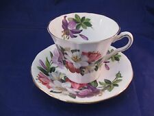 "Adderley English Tea Cup and Saucer  - ""Mayfair"""