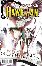 Hawkman Comic Issue 1 Convergence Modern Age First Print 2015 Parker Truman DC