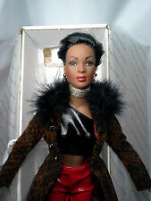 "Tonner Doll "" Esme ""  Wigged Out - African American with 2 extra wigs & 2 outfit"
