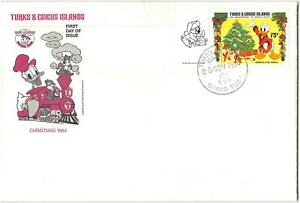 Turks and Caicos Islands #648 FDC