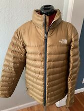 THE NORTH FACE GOLD/NAVY 550-FILL DOWN JACKET MENS L NWOT