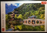 "500 Piece Jigsaw Puzzle - Trefl Puzzle ""Mountain View"""