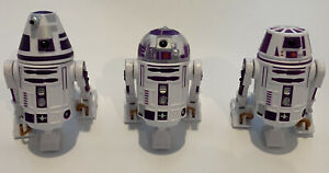 Disney Star Wars 2012 Droid Factory Build A Droid BAD - Purple R3 R4 & R6 - NEW