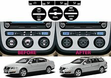 Climate Control Button Decal Stickers Repair For 2005-2009 Volkswagen Passat New