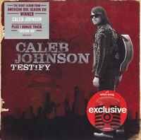 Caleb Johnson  – Testify    -  CD NEU