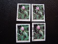 COTE D IVOIRE - timbre yvert/tellier n° 759 x4 obl (A28) stamp (Z)