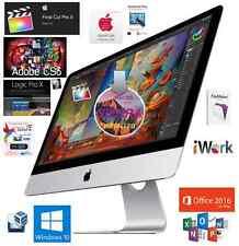 """2017 27"""" iMac 5K Retina 4.2Ghz i7 Quad, 8GB Radeon580,64GBddr4 Logic/FinalCut"""