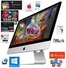 "APPLE 27"" iMac w/ Retina 5K Display 3.4Ghz QuadCore Adobe CS6 Logic & Final Cut"