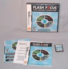 GAME NINTENDO DS Flash Focus DSi NDS lite dsi i dsixl xl 3D 3DS