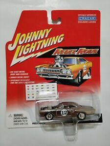 Johnny Lightning Rebel Rods CHROME 1969 Dodge Super Bee 69 Mopar Beetnik 1:64(V)