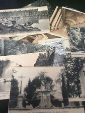 Lote De 50 Postales De Francia Variadas De Primeros Del Siglo XX