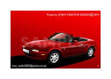 Mazda MX-5 A3 Poster