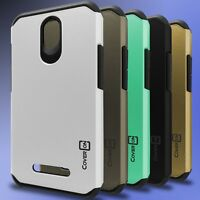 For ZTE Obsidian Case - Hard Hybrid Slim Cover Tough Protective Phone Back Cover