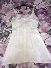 New Glamorous @ ASOS White Lace Dress Size Small ( 8 )
